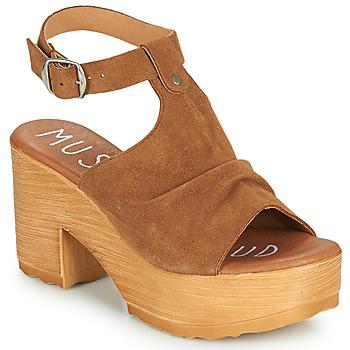 Shoes Women Sandals Musse & Cloud FOXY Cognac