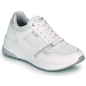 Shoes Women Low top trainers Xti WALLO White / Silver