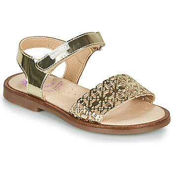 Shoes Girl Sandals Pablosky SAMMI Gold