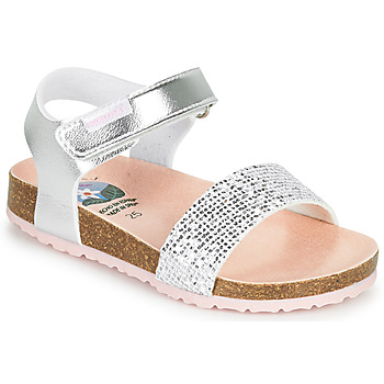 Shoes Girl Sandals Pablosky LASSIE Silver