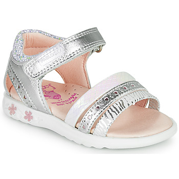 Shoes Girl Sandals Pablosky ELLO Silver