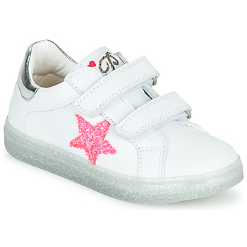 Shoes Girl Low top trainers Pablosky SINNO White / Pink