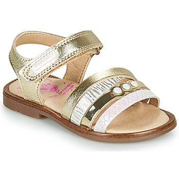 Shoes Girl Sandals Pablosky ANTHO Gold
