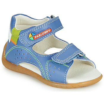 Shoes Boy Sandals Pablosky KINNI Blue