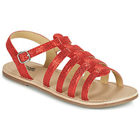 Shoes Girl Sandals Citrouille et Compagnie MAYANA Red