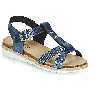 Shoes Girl Sandals Citrouille et Compagnie OMALA Blue