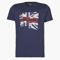material Men short-sleeved t-shirts Pepe jeans DONALD Marine