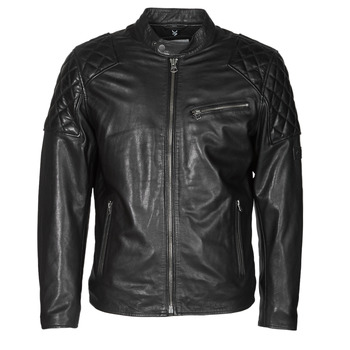 material Men Leather jackets / Imitation leather Pepe jeans DONNIE Black