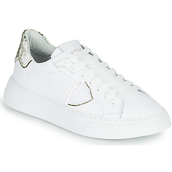 Shoes Women Low top trainers Philippe Model TEMPLE White
