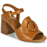 Shoes Women Sandals See by Chloé HANA SB3406 Cognac