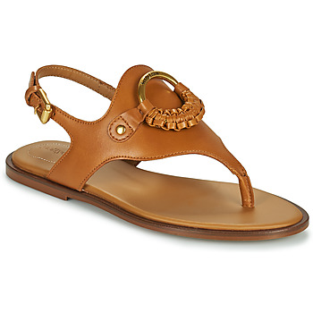 Shoes Women Sandals See by Chloé HANA SB36131 Cognac