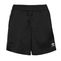 material Women Shorts / Bermudas adidas Originals SATIN SHORTS Black