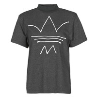 material Women short-sleeved t-shirts adidas Originals TEE Black
