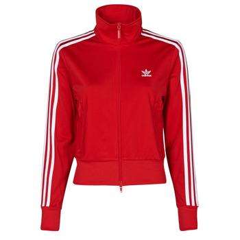 material Women Jackets adidas Originals FIREBIRD TT PB Red