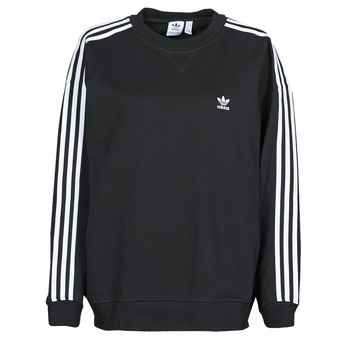 material Women sweaters adidas Originals OS SWEATSHIRT Black