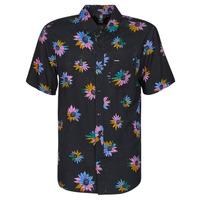 material Men short-sleeved shirts Volcom PLEASURE CRUISE S/S Black