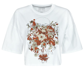 material Women short-sleeved t-shirts Volcom FA FORTIFEM TEE White