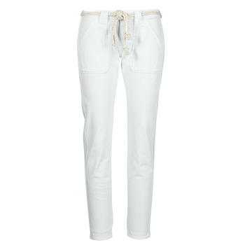 material Women 5-pocket trousers Le Temps des Cerises EZRA White