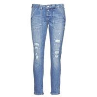 material Women Boyfriend jeans Le Temps des Cerises CARA Blue