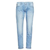 material Women Boyfriend jeans Le Temps des Cerises MACEL Blue