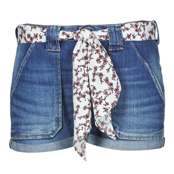 material Women Shorts / Bermudas Le Temps des Cerises BLOOM Blue