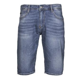 material Men Shorts / Bermudas Le Temps des Cerises JOGG BERMUDA Blue