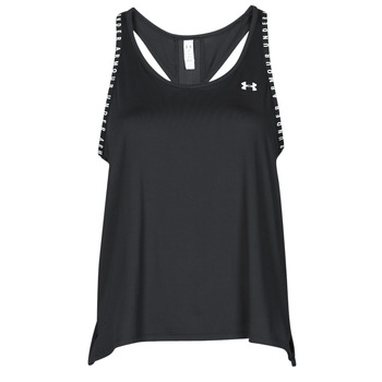 material Women Tops / Sleeveless T-shirts Under Armour UA KNOCKOUT TANK Black
