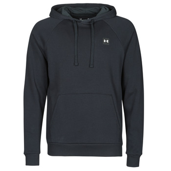 material Men sweaters Under Armour UA RIVAL FLEECE HOODIE Black