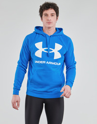 material Men sweaters Under Armour UA RIVAL FLEECE BIG LOGO HD Blue