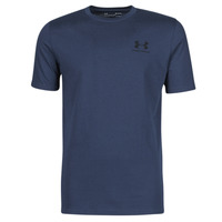 material Men short-sleeved t-shirts Under Armour UA SPORTSTYLE LC SS Blue