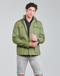 material Men Blouses Petrol Industries JACKET FIELD Kaki