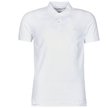 material Men short-sleeved polo shirts Esprit COO N PI PO SS White