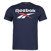 material Men short-sleeved t-shirts Reebok Classic RI BIG LOGO TEE Marine