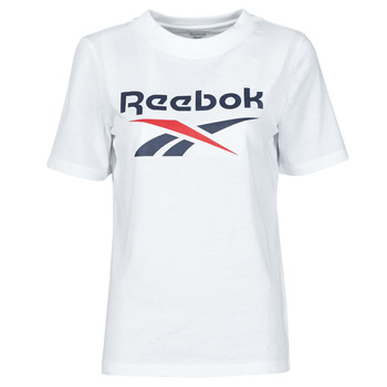 material Women short-sleeved t-shirts Reebok Classic RI BL TEE White