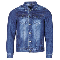 material Men Denim jackets Yurban OPSI Blue / Medium