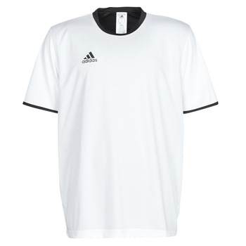 material Men short-sleeved t-shirts adidas Performance TAN REV JSY White