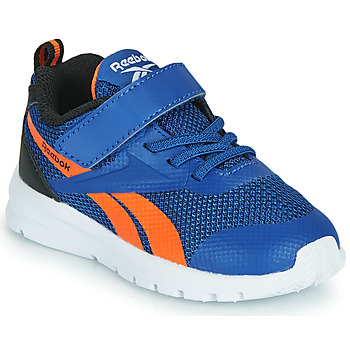 Shoes Boy Low top trainers Reebok Sport RUSH RUNNER Blue / Orange / Black