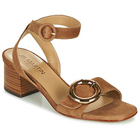 Shoes Girl Sandals JB Martin OLAK Brown