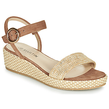 Shoes Girl Sandals JB Martin 1JADENA Brown