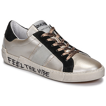 Shoes Women Low top trainers Meline NK1382 Bronze / Black