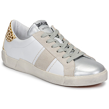 Shoes Women Low top trainers Meline NK1381 White / Beige