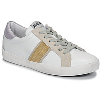 Shoes Women Low top trainers Meline KUC1414 White / Gold