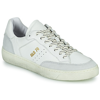 Shoes Women Low top trainers Meline CAR140 White
