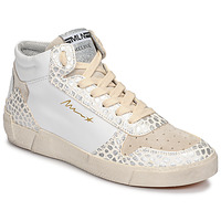 Shoes Women High top trainers Meline NK1409 White / Croc