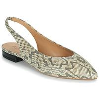 Shoes Women Ballerinas JB Martin VELANI White / Black
