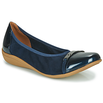 Shoes Women Ballerinas Sweet CLAMS Marine