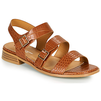 Shoes Women Sandals The Divine Factory LS1793H Camel
