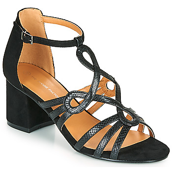 Shoes Women Sandals The Divine Factory QL4327 Black