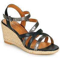 Shoes Women Sandals The Divine Factory QL4354 Black