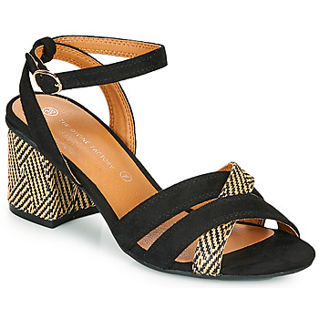 Shoes Women Sandals The Divine Factory QL4322 Black